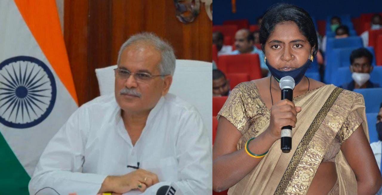 नारायणपुर : मीरा ने कहा अनुकंपा नियुक्ति मिलने से पूरे परिवार को मिली राहत
