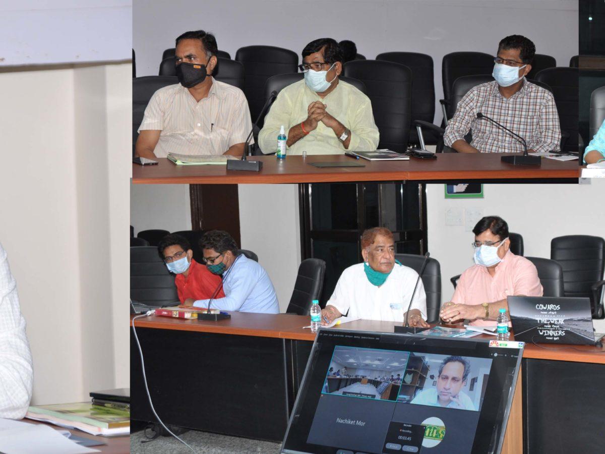 राज्य योजना आयोग द्वारा 'स्वास्थ्य, पोषण एवं खाद्य सुरक्षा' पर गठित टॉस्क फोर्स की बैठक में सदस्यों ने दिए महत्वपूर्ण सुझाव
