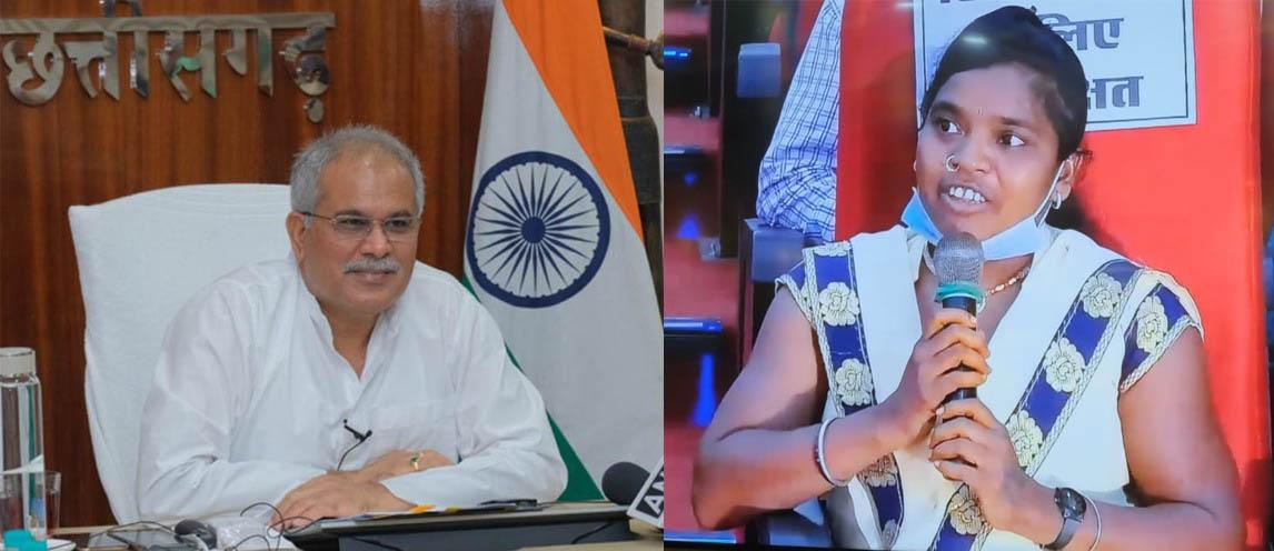 दिव्यांग ललिता को गोठान ने दी ताकत : खुद भी कमा रहीं : 35 महिलाओं को भी दिया रोजगार