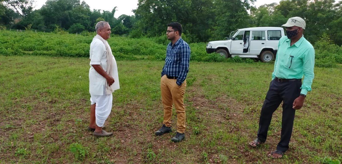 रायगढ़ : शासन की योजना का लाभ लेने धान के बदले अन्य फसल ले रहे जिले के कृषक