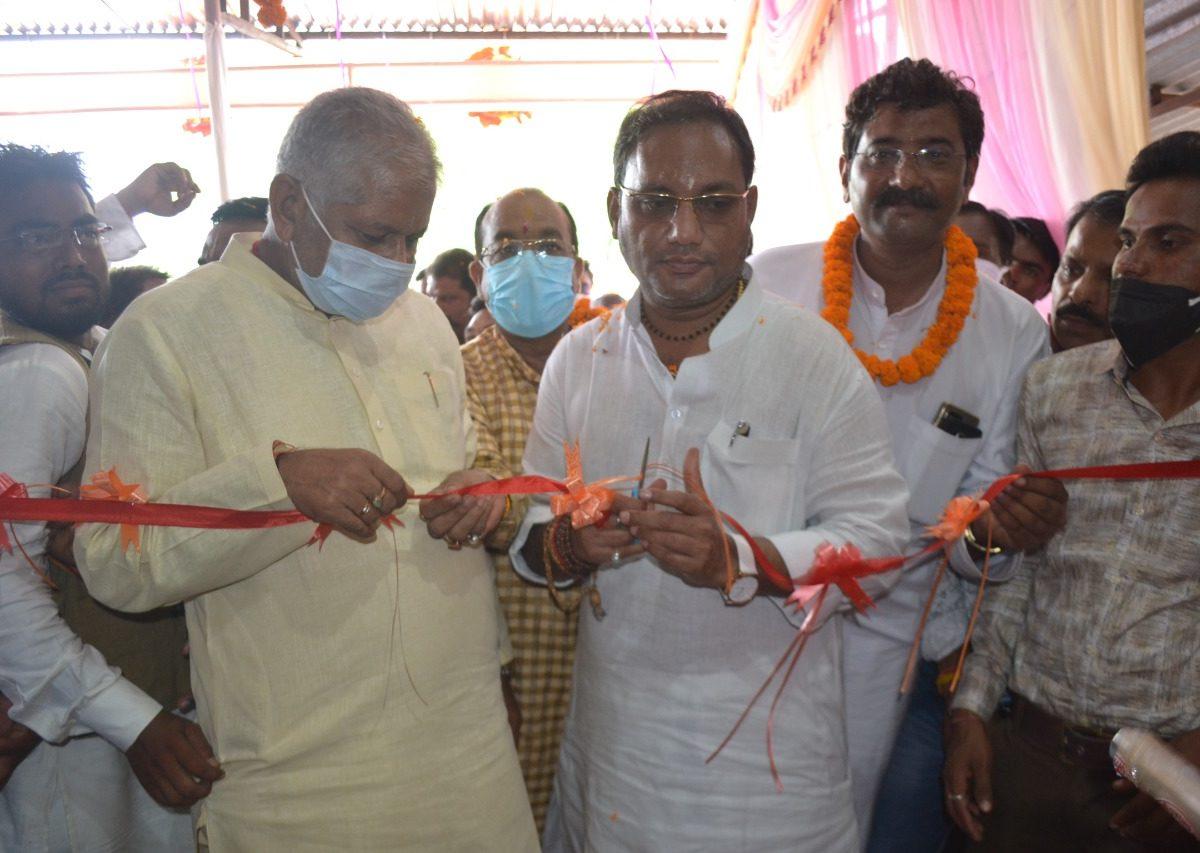 मुंगेली : जिले के प्रभारी मंत्री श्री गुरू रूद्र कुमार ने किया नवीन हास्पिटल चिरंजीवनी का लोकार्पण