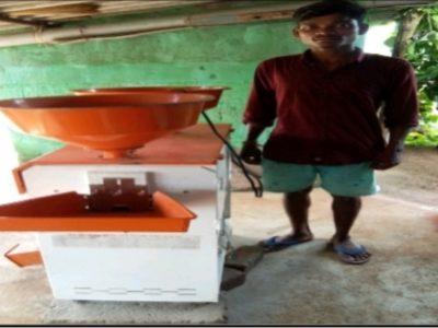 दंतेवाड़ा : मिनीराईस मिल मिलने से कुम्माराम की बदली आर्थिक एवं सामाजिक स्थिति