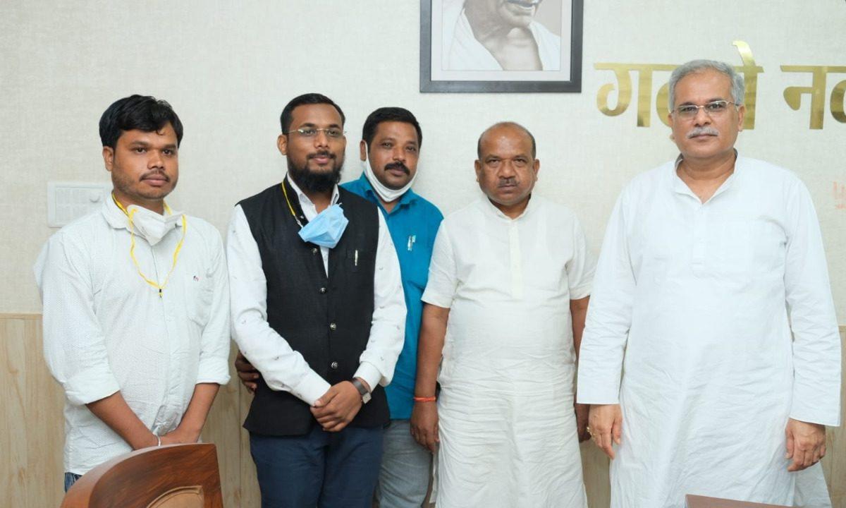 रायपुर : मुख्यमंत्री श्री भूपेश बघेल का मोहला-मानपुर-चौकी क्षेत्र के लोगों ने जिले की सौगात के लिए आभार जताया