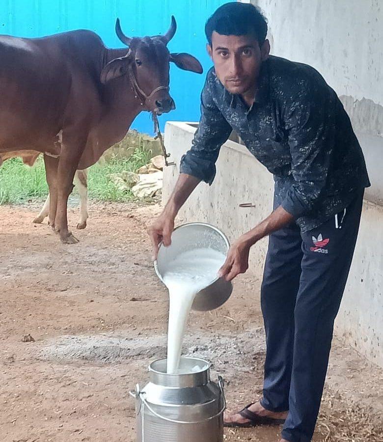 प्रतिदिन 80 लीटर दूध बेचकर 30 हजार रूपये की कर रहें आमदनी
