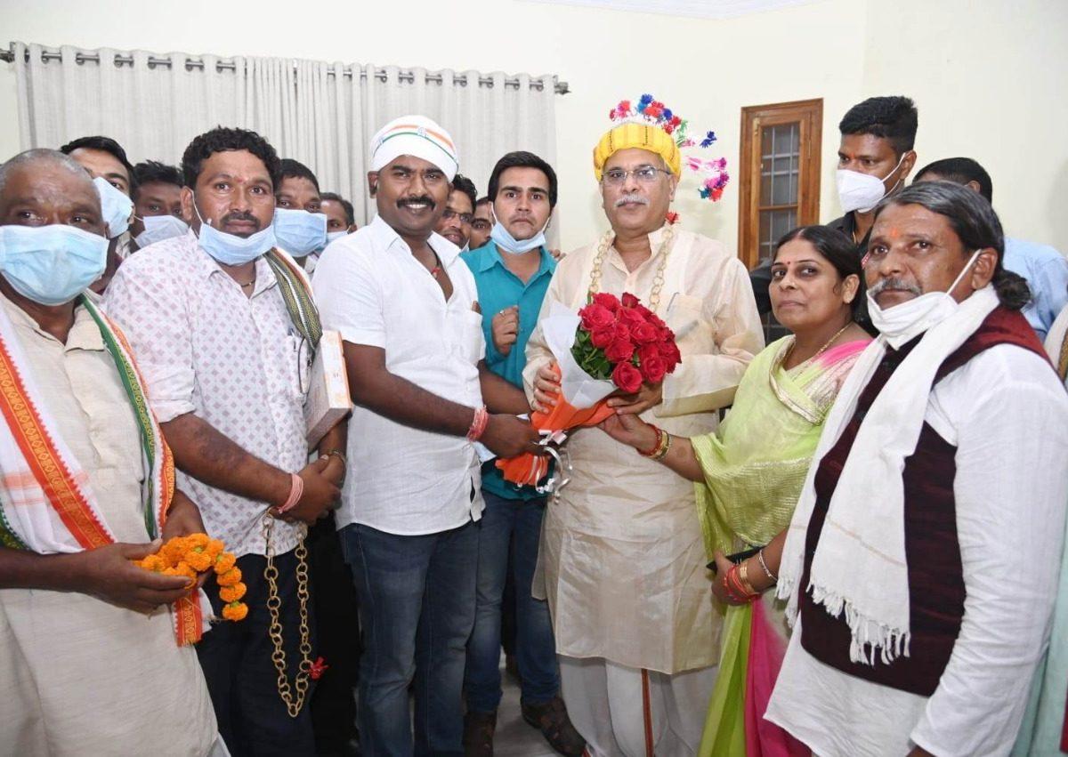 कुकदुर को तहसील का दर्जा देने की घोषणा के लिए सीएम का आभार जताया