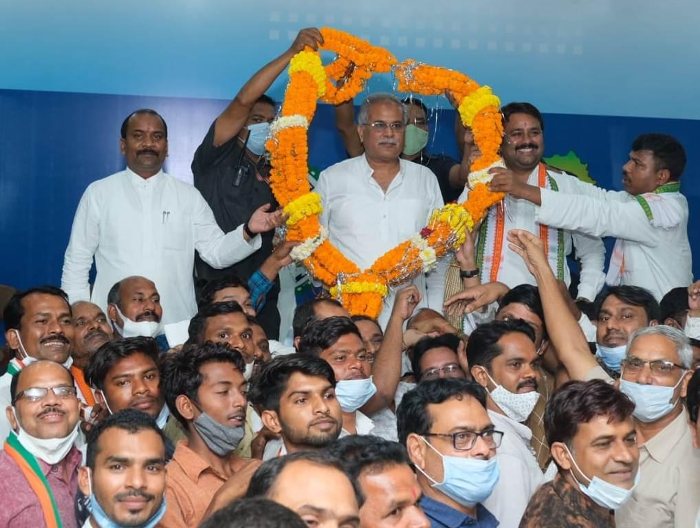 नया जिला बनने से विकास में आएगी तेजी: मुख्यमंत्री भूपेश बघेल