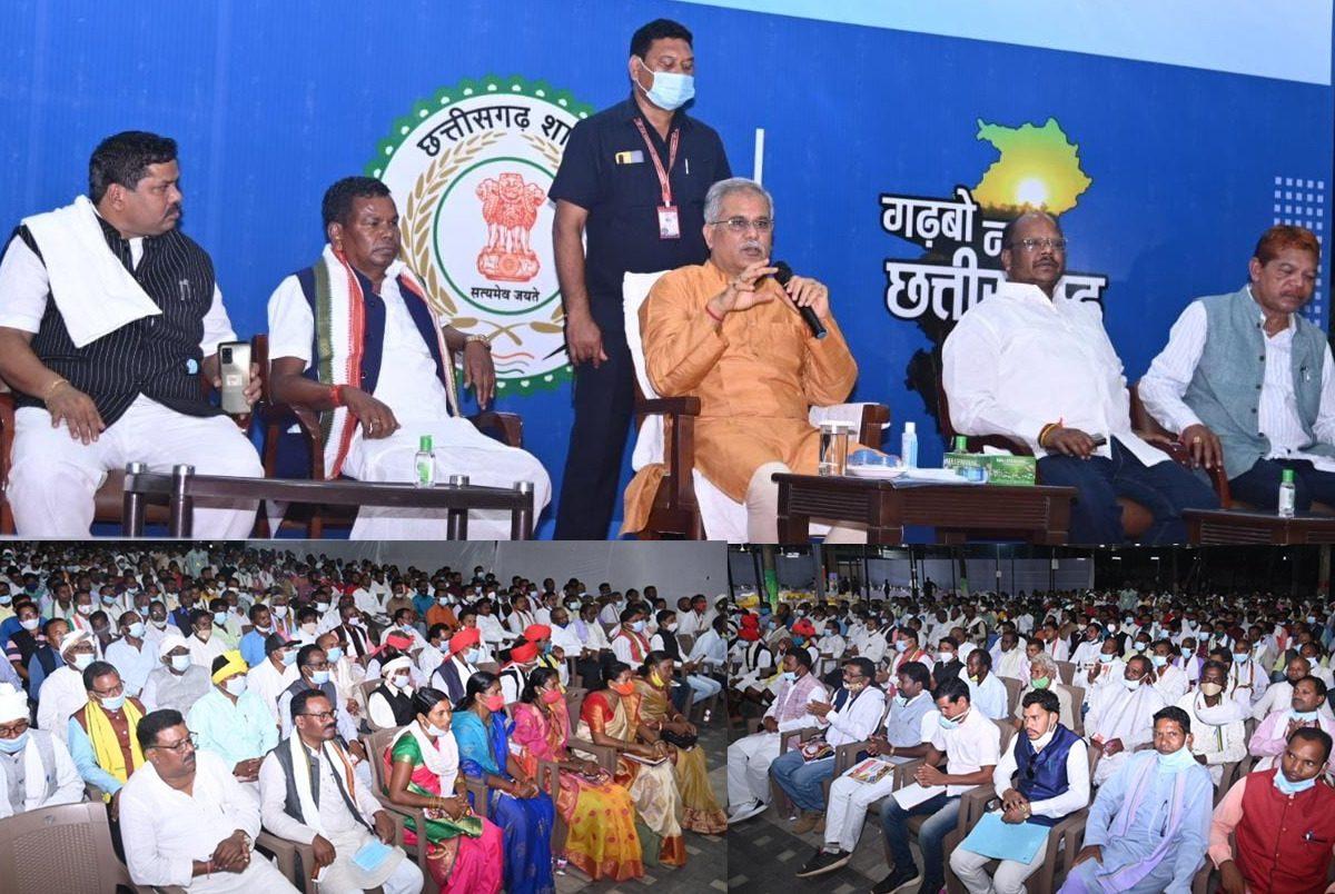 मुख्यमंत्री से बस्तर से आए सर्व आदिवासी समाज के प्रतिनिधिमंडल ने सौजन्य मुलाकात की