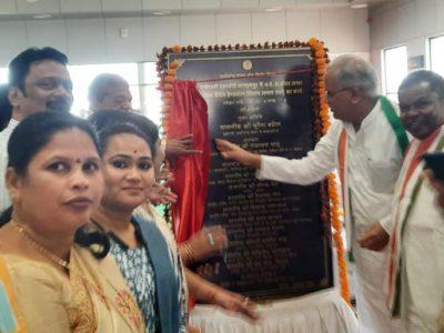 मुख्यमंत्री ने किया मां दन्तेश्वरी एयरपोर्ट में लगेज कन्वेयर बेल्ट का शुभारंभ