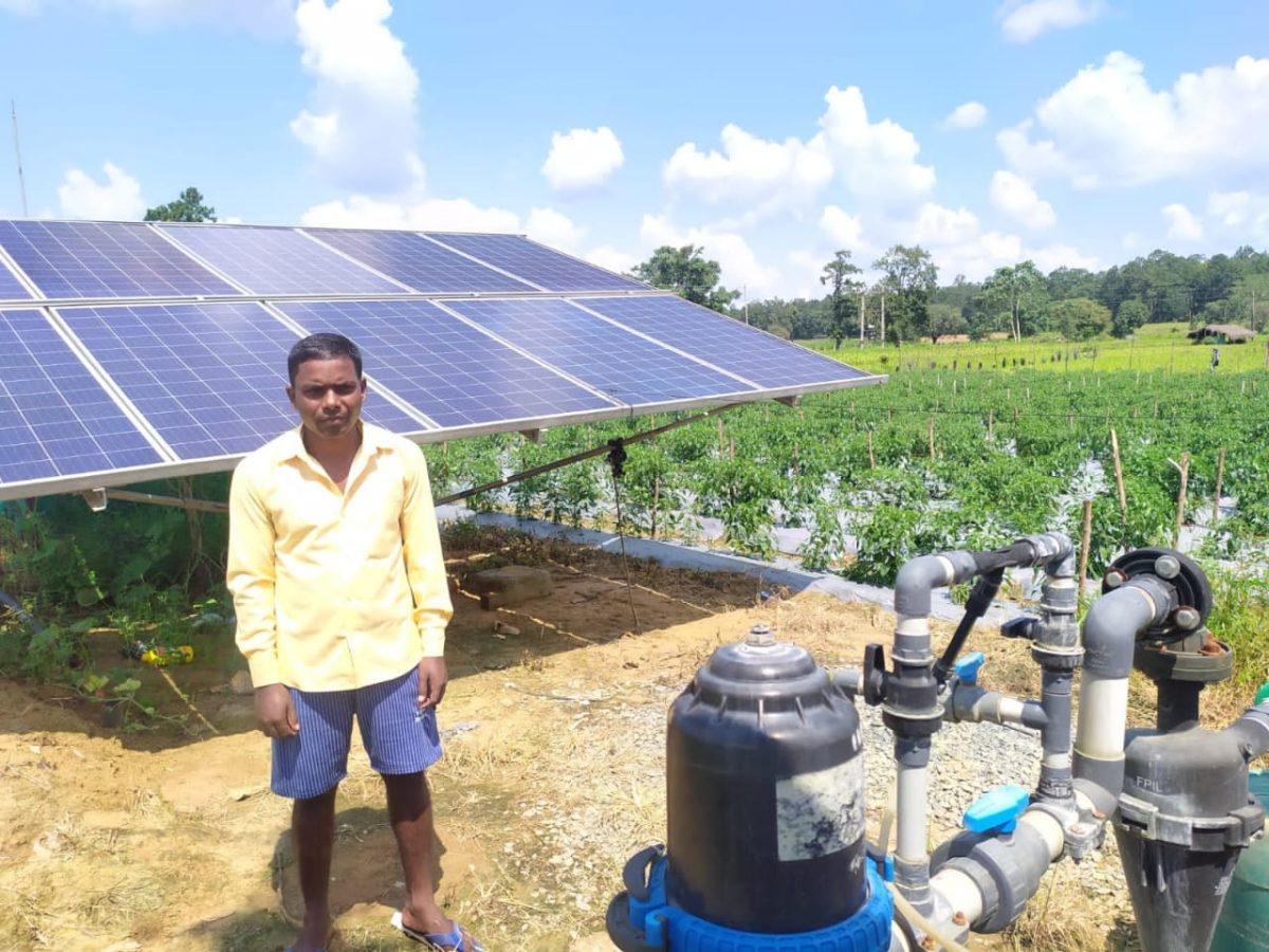 सौर सुजला से आयी समृद्धि: 'शेषराम' का सपना हुआ साकार